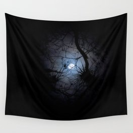 Everglades Moon Wall Tapestry