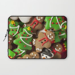 Delicious Christmas Cookies Laptop Sleeve