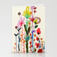 karu kara Stationery Cards featuring viva by sylvie demers