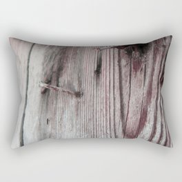 Rusty timber Rectangular Pillow