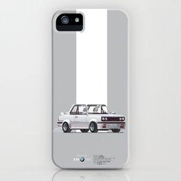 BMWE30 Car Poster iPhone Case