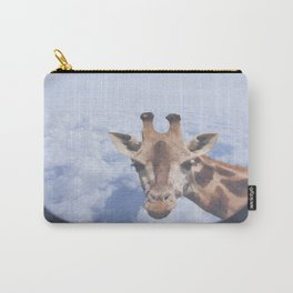 Yeah yeah, for sure there is a funny giraffe...  #decor #society6 #buyart Carry-All Pouch