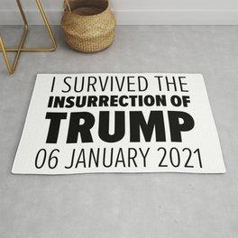 Insurrection Of Trump Rug
