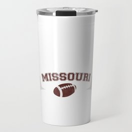 Just a Baller from Missouri Football Player Travel Mug