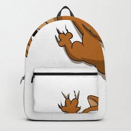 Scratch cat Backpack