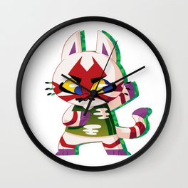 Kabuki. Wall Clock