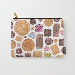 Selection of Sweets, Candy, Cakes and Biscuits Carry-All Pouch