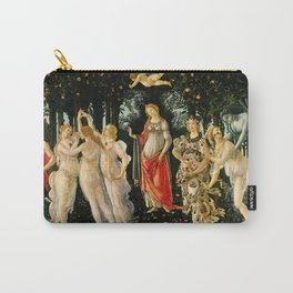 """Sandro Botticelli """"Spring"""" Carry-All Pouch"""