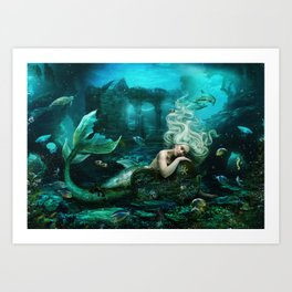 Part Of Your World Art Print