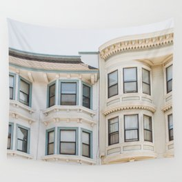 North Beach Blues in San Francisco Wall Tapestry