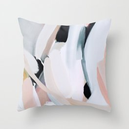 Abstract Brush Strokes, I Throw Pillow