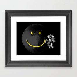 Make a Smile Framed Art Print