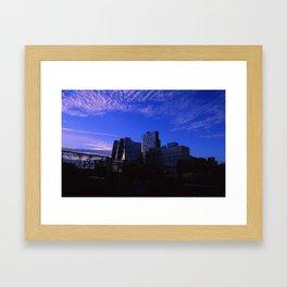 New York Skylines  Framed Art Print