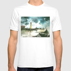 Sea Mens Fitted Tee MEDIUM White