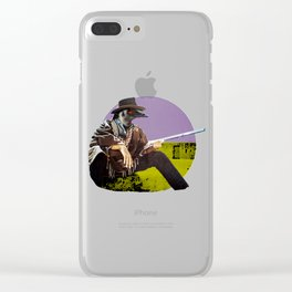 Clint Emu Clear iPhone Case