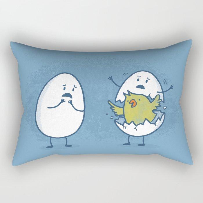 EGGsplosion! Rectangular Pillow