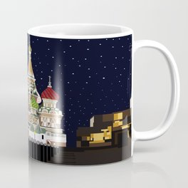 Love at the Moscow Kremlin Coffee Mug