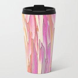 244 - Waterfall of petals abstract design Travel Mug