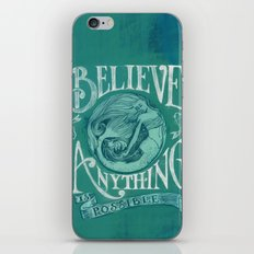 Believe iPhone & iPod Skin