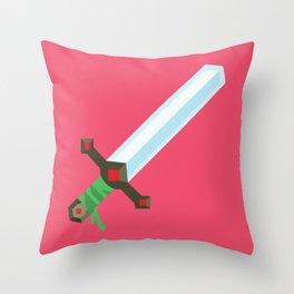 Magic Sword Throw Pillow