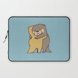 Otter Hugs Laptop Sleeve