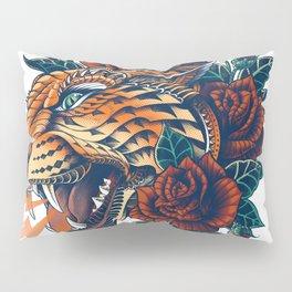 Ornate Leopard (Color Version) Pillow Sham