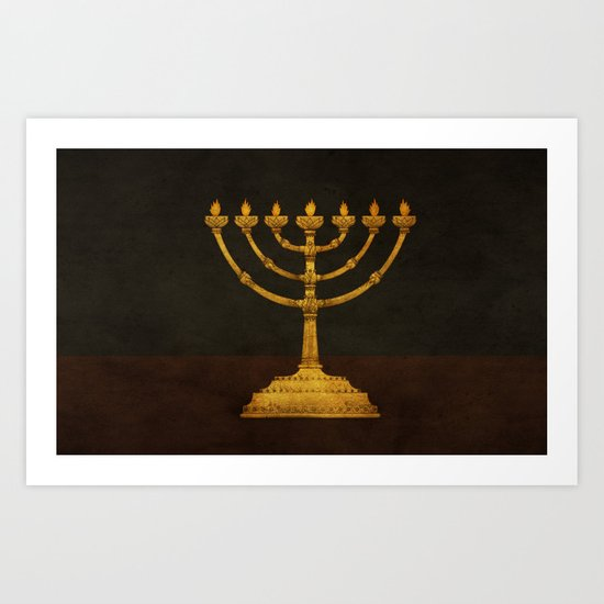 Exodus 37:17 Art Print