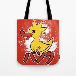 Punk Duck Tote Bag