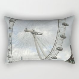 London Eye Rectangular Pillow