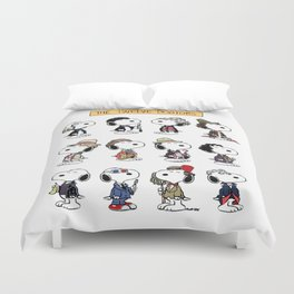 The Dogtors snoopy Duvet Cover