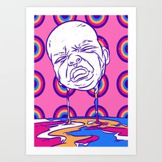 Crying baby Art Print