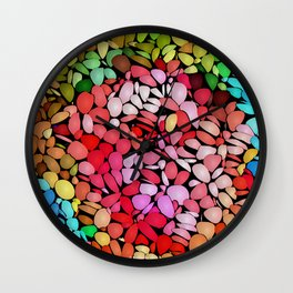 Jazzed Wall Clock