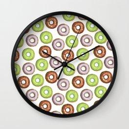 I Donut Know Wall Clock