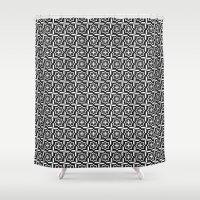cross Shower Curtains featuring cross by ErDavid