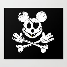 The Jolly Mickey Canvas Print