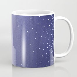 Snowy Landscape Abstract Coffee Mug