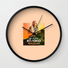 kiyoko tour Wall Clock