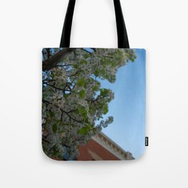 another perspective Tote Bag