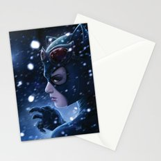 Catwoman Painting Stationery Cards