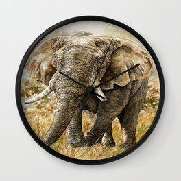 Africa08 Wall Clock