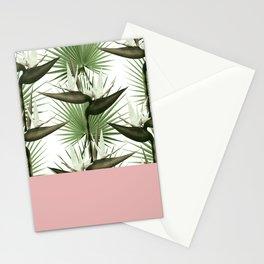 Strelitzia Tropical Pink Stationery Cards