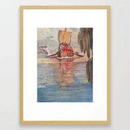 Viking, N. M. Price, 1891 Framed Art Print