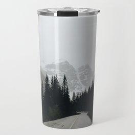 Moraine Lake Road Travel Mug
