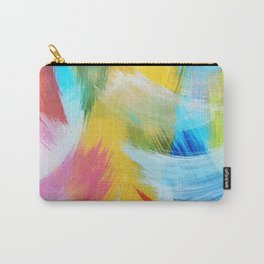Feathery Swirl Carry-All Pouch