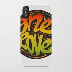 One Love iPhone X Slim Case