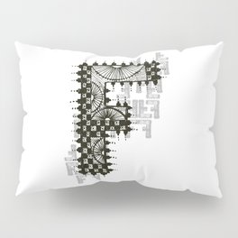 Color Me F Pillow Sham
