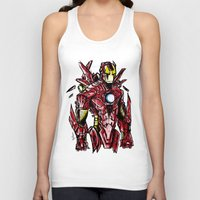 ironman Tank Tops featuring Ironman by Dragon_xD