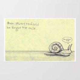 Snail Milk Rug