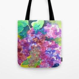 Bold Color Lilacs Tote Bag