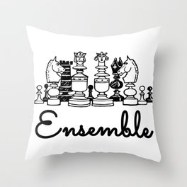 Ensemble Throw Pillow